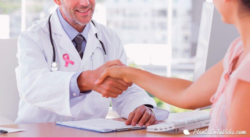 visita prevención cáncer de mama
